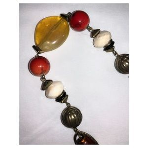 Ruby Rd. Jewelry - Vintage Gold Tone Long Bead Necklace